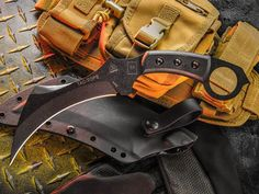 TOPS Knives teams up with Max Venom designer Colin Despins for the TAC-TOPS Karambit, made for all aspects of the outdoors.