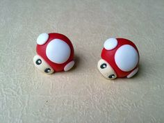 Nintendo Super Mario Bros Mushroom Earrings