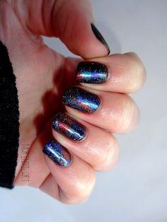 Mari-nail-art: Tâches d'essence et rétines qui piquent !