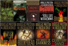 Douglas Preston & Lincoln Child's Aloysius X.L. Pendergast series. Read these today, for they are awesome!!