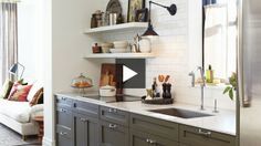 I flippin' LOVE this kitchen!!! Functional Rowhouse Kitchen   House & Home   Online TV