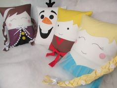 Almofadas Frozen - Lulinharte