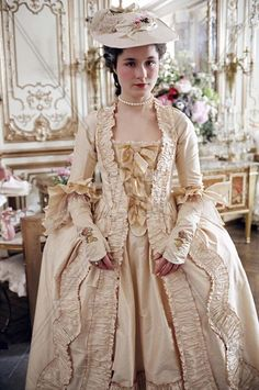 "Princess de Lamballe (Mary Nighy) in the 2006 production of ""Marie Antoinette"" by Sofia Coppola"