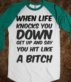 Hahaha some days I actually have this attitude
