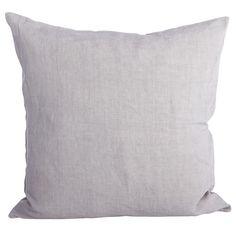 Simple kuddfodral 60x60, ljusgrå i gruppen Textil / Plädar & Prydnadskuddar / Prydnadskuddar hos RUM21.se (116126)