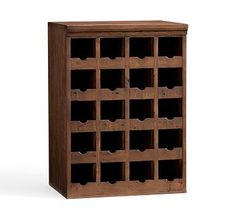 Build Your Own - Wallace Reclaimed Wood Modular Cabinets #potterybarn