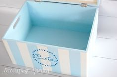 Items similar to Baby memory box, baby keepsake personalized, baptism gift for a boy or girl on Etsy Baby Memories, Baby Keepsake, Baptism Gifts, Toy Chest, Storage Chest, Boy Or Girl, Decoupage, Unique Jewelry, Handmade Gifts
