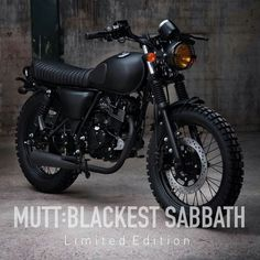 I so want one of these... With a couple extra touches for perfection. Mutt Motorcycles