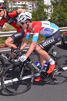 #BobJungels in the bunch during Stage 4! #EtixxQuickStepProCycling - nice, www.cyclingisgreat.com