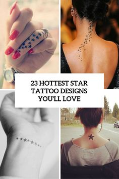 hottest star tattoo designs youll love