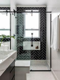 Small Shower Room, Small Bathroom Layout, Shower Niche, Home Room Design, Home Interior Design, Toilet Design, Bathroom Design Luxury, Apartment Design, Bathroom Inspiration