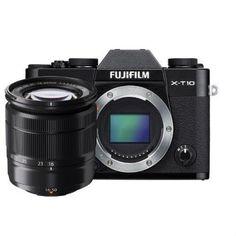 Cámara evil - Fujifilm X-T10 Negro + XC 16-50 mm, WiFi