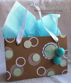 Like this use of different sized circles and rings. February Paper Pumpkin Kit- In the Bag, Stampin Up