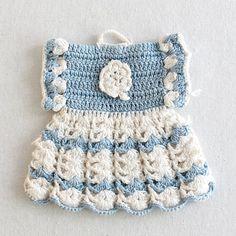 Vintage Fashion Potholders Crochet Pattern PDF by Maggiescrochet