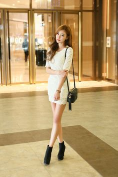 Flower Lace Layer Dress