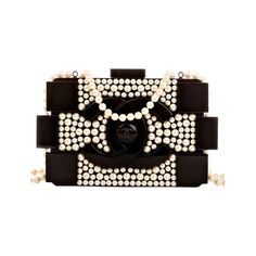 5d7868b8aabd Chanel Pearlized Lego Clutch Boy Bag   From a collection of rare vintage  handbags and purses