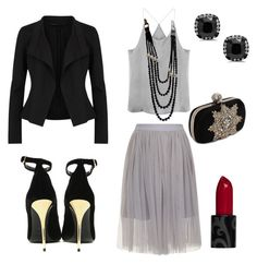 """""""Untitled #20"""" by rhonda-kerl on Polyvore featuring Donna Karan, Chanel, Alexander McQueen and Balmain"""