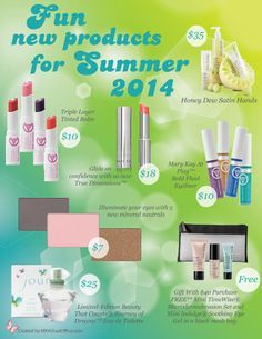 Juicy colors for summer at www.marykay.com/jenjones
