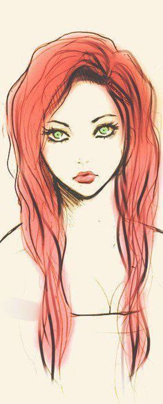 interesting cartoon portrait :)