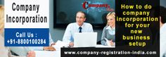 How to do company incorporation for your new business setup    If you want to setup your own business then its very necessary that you should know everything about company incorporation. Company incorporation is legal procedure requiring lots of documents like Memorandum of Association (MoA),Articles of Association (AoA),Power of Attorney etc. Visit us for more information.