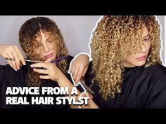 Today I will be explaining everything you need to know about trimming your curly hair! Sharing my best tips for achieving the PERFECT curly hair cut, how to . Long Layered Curly Hair, Layered Curly Haircuts, Thin Curly Hair, Curly Hair With Bangs, Colored Curly Hair, Curly Hair Tips, Curly Hair Layers, Curly Girl, Short Hair
