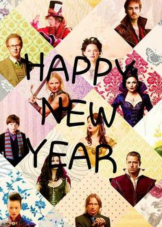 HAPPY NEW YEAR FOR ALL MY ONCERS!!!!!