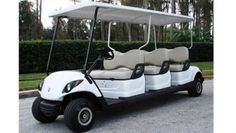 Beckers Golf Cart Handel -   - Ligier - Yamaha - WSM Mitsubishi - E-Z-GO - Club Car - Yamaha Consierge 6 NEUFAHRZEUG Sechssitzer Golf Cart / Golfcar