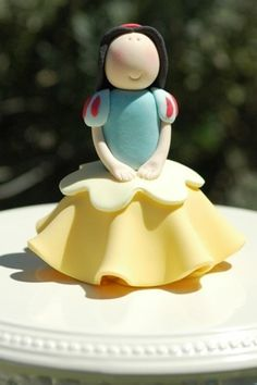 Princess Cupcake PDF Tutorial (Snow White)