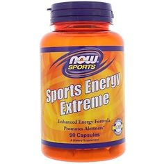 Now Foods, Sports Energy Extreme, 90 Capsules - iHerb.com