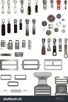 Some kinds of sewing accessories