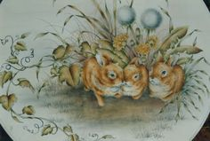 Pattern Packets - Baby Bunnies  - by Mary Owens
