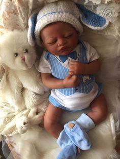 Lifelike Biracial Reborn Baby Boy Doll Jackson