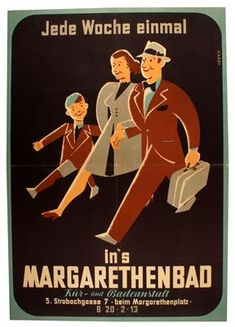 Margarethenbad - 1946 - (Hardy) -