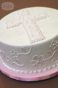 Brush Embroidery First Communion Cake Cupcakes, Cupcake Cakes, Comunion Cakes, Confirmation Cakes, Baptism Cakes, Cross Cakes, Religious Cakes, First Communion Cakes, Christening Party
