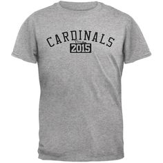 Graduation - Cardinals 2015 Heather Grey Adult T-Shirt