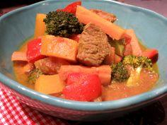 Low Carb Rezepte von Happy Carb: Bombay-Curry - Da könnte ich glatt im Sari durch die Küche tanzen