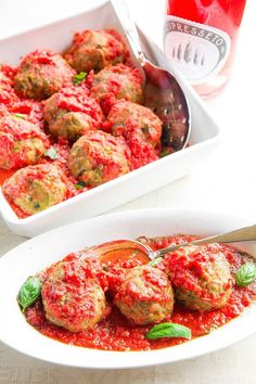 Cipresseto Rosato Wine Meets Tuscan Meatballs - The top trends to try in 2019 Stir Fry Spinach, Fried Spinach, Sauteed Spinach, Tuscan Recipes, Italian Recipes, Beef Recipes, The Fresh, Entrees, Good Food