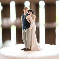 Tortenfigur zur Hochzeit 'Süße Umarmung'
