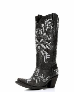 """Gotta have them in Black, too! :D Luchesse Women's Redwood Aspen Calf """"Studded Angelina"""" Boots."""