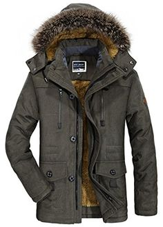 """HOT PRICES FROM ALI - Buy """"PEILOW plus size Winter Jacket Men thick Windproof Hood parka mens jackets and coats Windbreaker Coat Jaqueta masculina"""" from category """"Men's Clothing & Accessories"""" for only USD. Mens Fur, Warm Coat, Leather Jacket, Jacket Men, Khaki Jacket, Bomber Jacket, Winter Jackets, Inspired Outfits, Men's Clothing"""