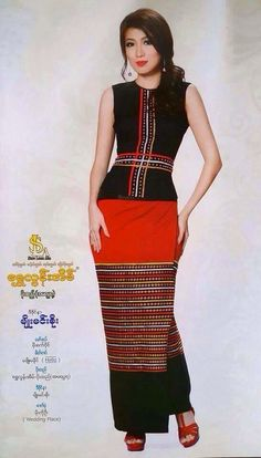Myanmar traditional dress