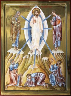 The Transfiguration. Egg tempera, gilding  Private collection, UK