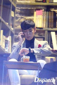 {PICS} TOP  @ CAFE IN BUSAN