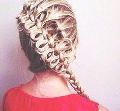 bow french braid this is legit