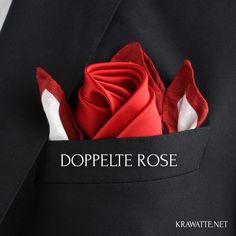 Wer richtig Eindruck schinden will und die Rosen-Falttechniken schätzt, wird die doppelte Rose lieben. Mehr Rose geht fast kaum...