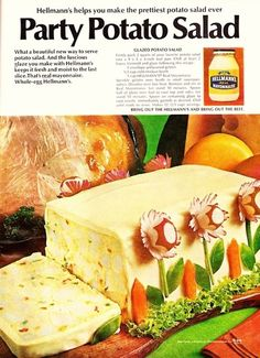 9 Truly Terrifying Vintage Super Bowl Party Recipes #superbowlparty #partyfood