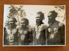 Vintage Real Photograph Australian Aboriginal 1930s Luritja-Papunya Mt Liebig | eBay