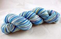 Blueish Fairy - Dyed on Demand  Starting at: $13.00  Nerd Girl Yarns
