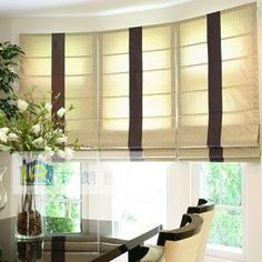 Tulip Roman Shade | Window Blinds