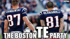 boston tea 'TE' party